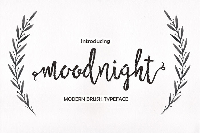 Moodnight-Modern-Brush-Typeface