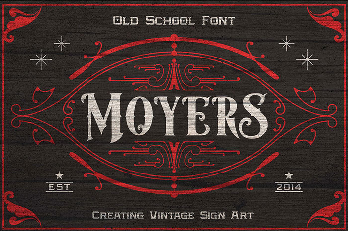 Moyers-Old-School-Font