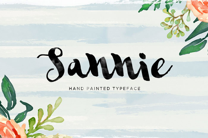 Sannie-Hand-Painted-Typeface