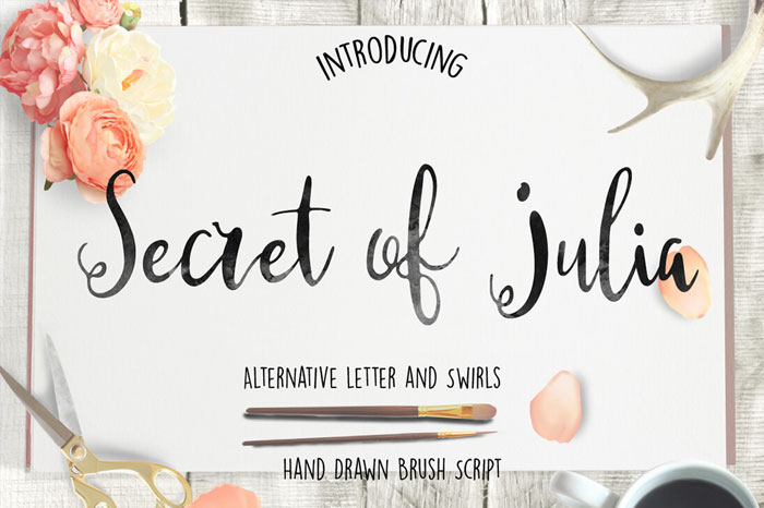 Secret-of-Julia-Hand-Drawn-Brush-Script
