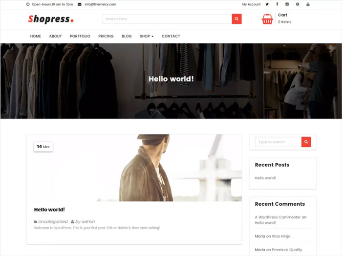 Shopress-Ecommerce-Free-Blog-&-Fashion-WordPress-Theme