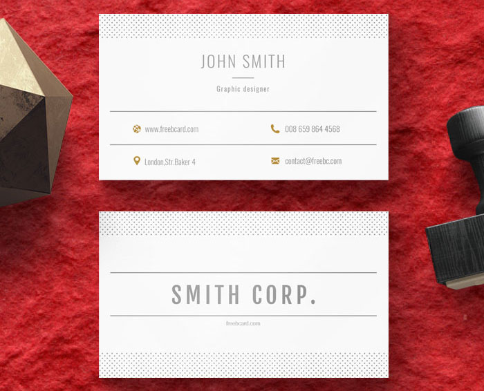 Simple-Minimal-Free-Business-Card-Template