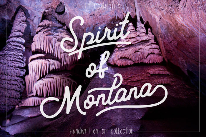 Spirit-of-Montana-Handwritten-Font