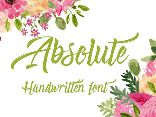 Absolute-Free-Handwritten-Font
