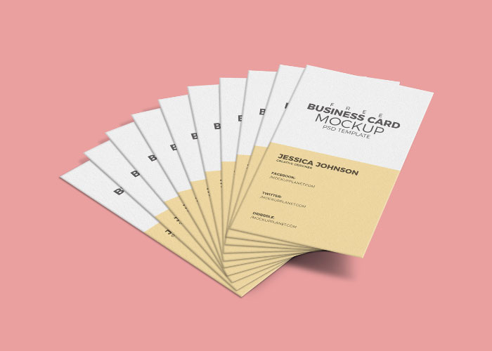 Free-Business-Card-Mockup-PSD-Template