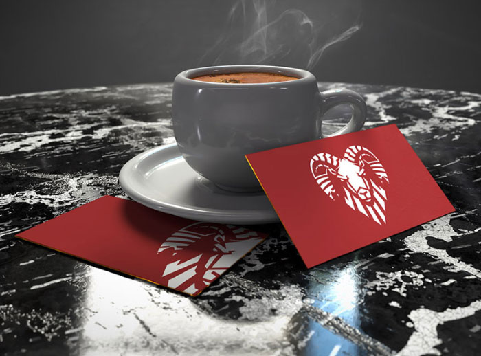 Free-Business-Card-Mockup-With-Coffee