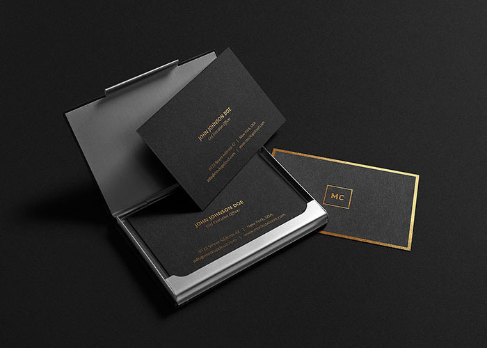 Free-Gold-Lettering-Business-Card-Mockup