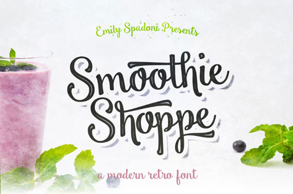 Free-Smoothie-Shoppe-Typeface