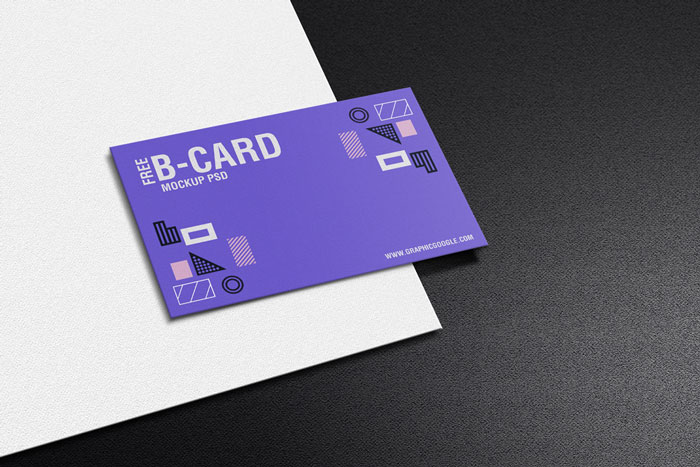 Free-Texture-Business-Card-Mockup-PSD-Template