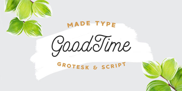 GoodTime-Free-Font