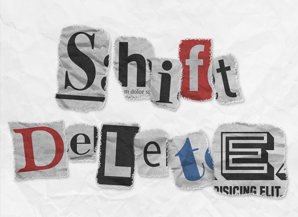 How-to-Create-a-Newspaper-Ransom-Note-Text-Effect-in-Adobe-Photoshop