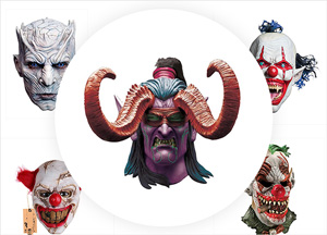 Buy The Best 20 Realistic Halloween Scary Masks For Designers & Artists