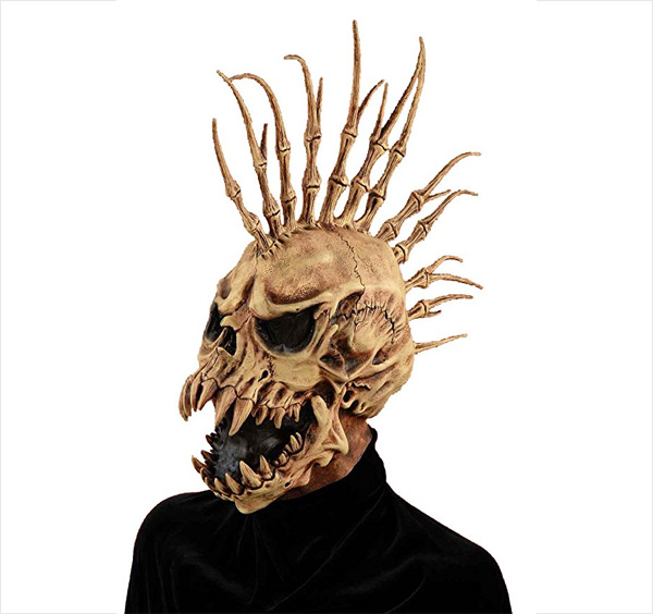 Forum-Novelties-Men's-Sinister-Fin-Skull-Adult-Costume-Mask