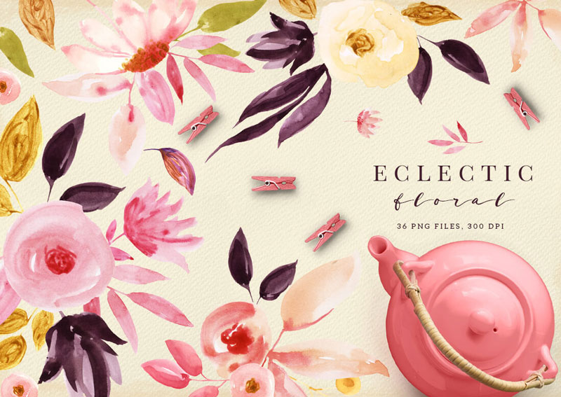 Eclectic-Floral-36-PNG-Files