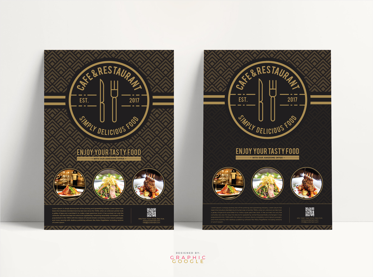 Free-Cafe-&-Restaurant-Flyer-Template