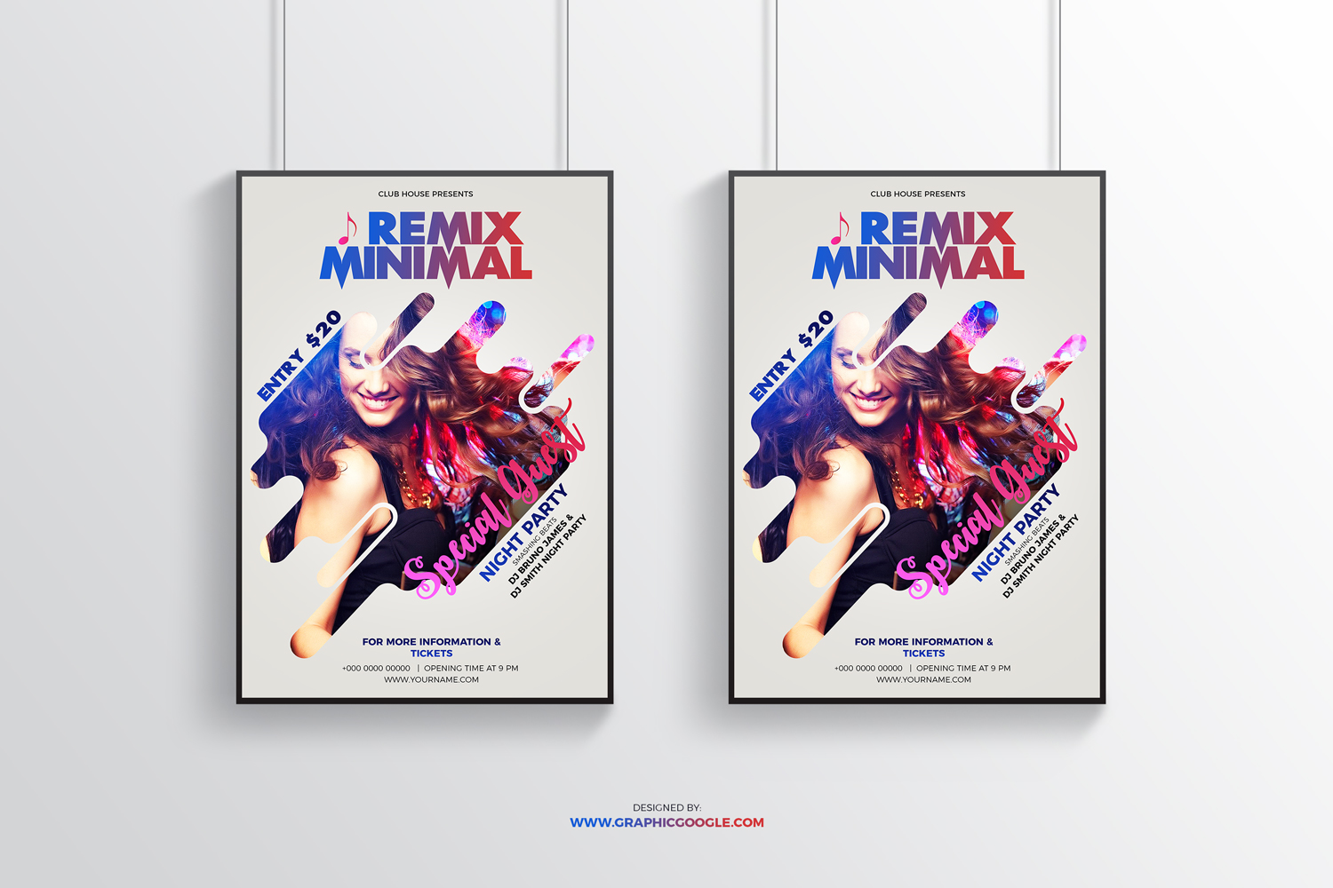 Free-Minimal-Modern-Party-Flyer-Design-Template