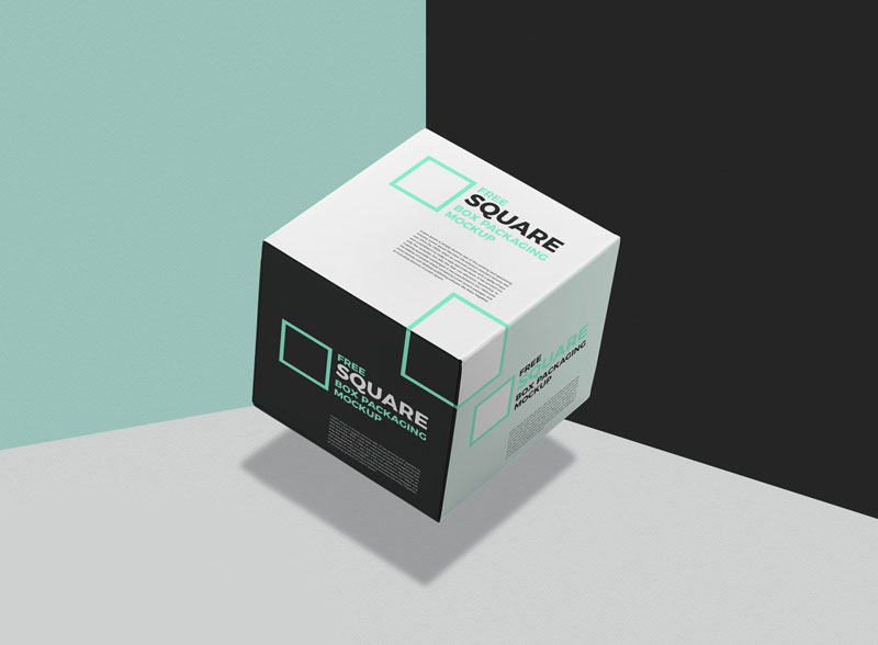 Free-Square-Box-Mockup-For-Packaging