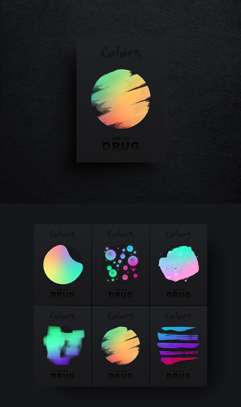 COLORS-ARE-MY-DRUG-Visions-Creative-Poster-Design-For-Inspiration