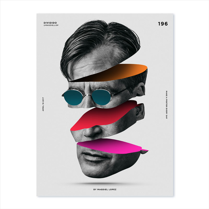 Dividido-Creative-Poster-Design-For-Inspiration