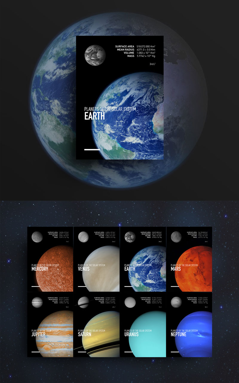 PLANETS-OF-THE-SOLAR-SYSTEM-Creative-Poster-Design-For-Inspiration