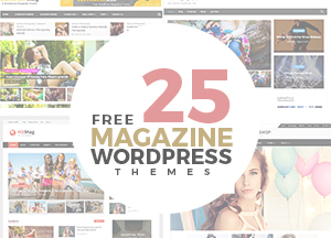25 Free Latest Outstanding Magazine WordPress Themes For 2018