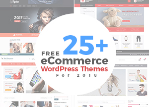 25+ Latest Free eCommerce WordPress Themes of 2018 For eCommerce Stores