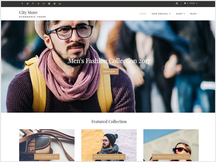 City-Store-A-Light-Weight-Simple-eCommerce-WordPress-theme