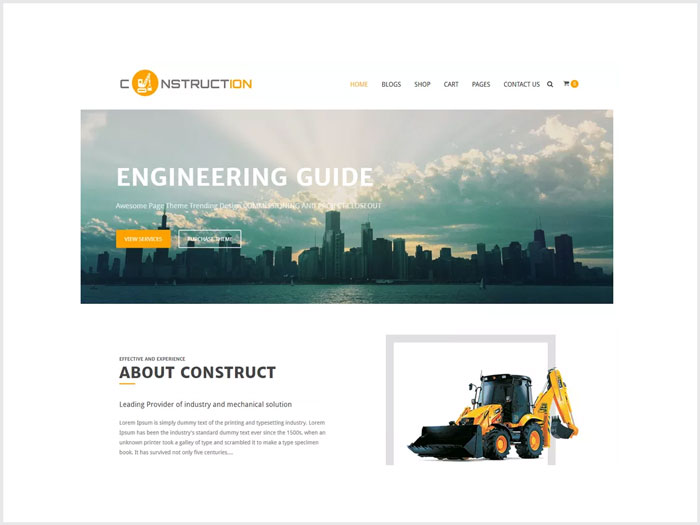 Construction-Full-Fledged-eCommerce-WordPress-theme