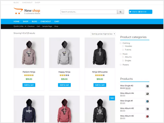 New-Shop-Online-Store-WordPress-theme