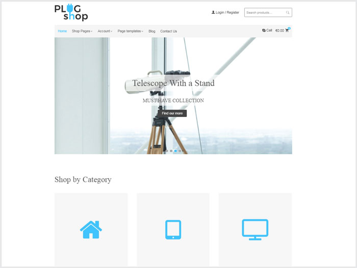 Plug-Shop-Modern-Flat-Design-WordPress-theme