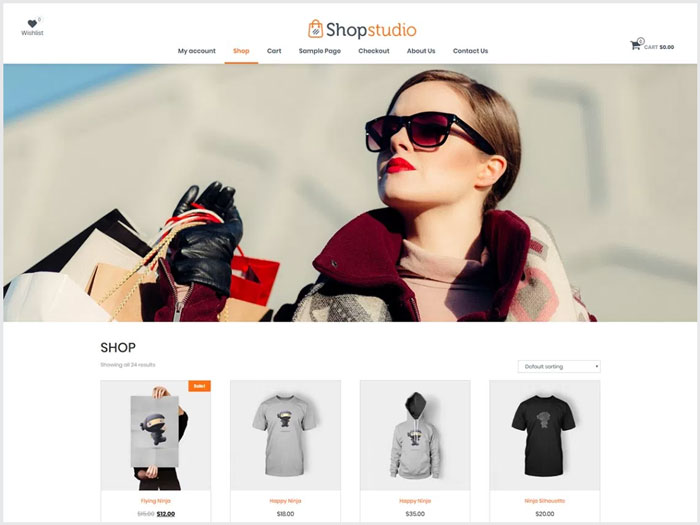 Shopstudio-WordPress-theme