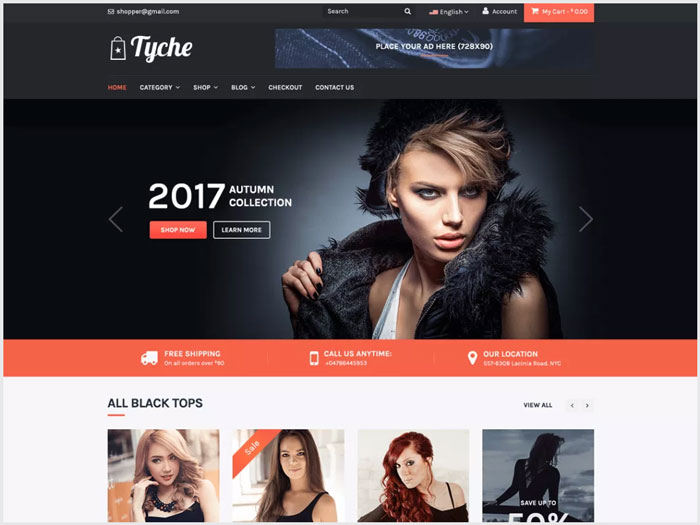 Tyche-eCommerce-WordPress-theme