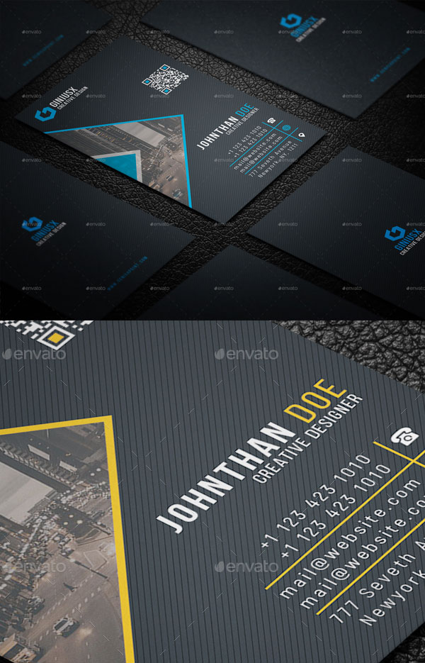 2-in-1-Business-Card-Bundle-For-Creative-Designers