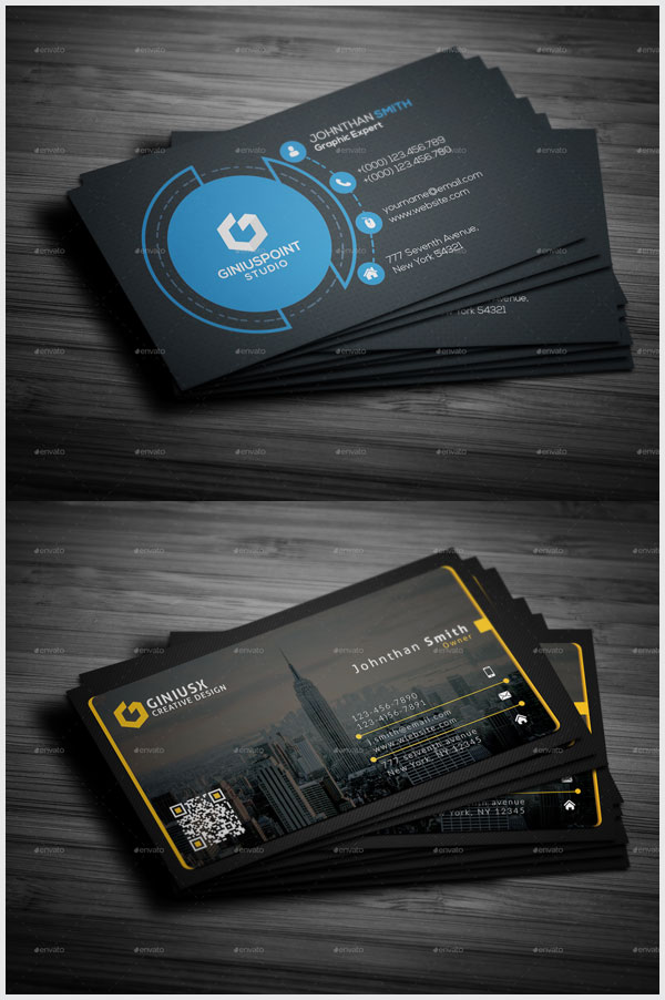 2-in-1-Corporate-Business-Card-Bundle-For-Creative-People
