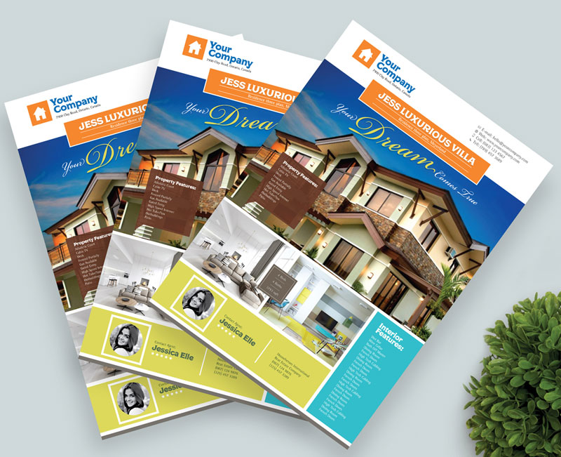 Free-Real-Estate-Flyer-Template