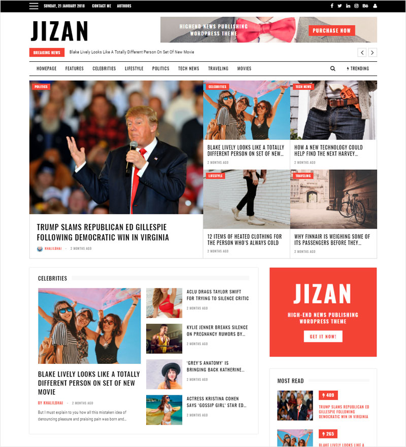Jizan-A-Newspaper-and-Magazine-WordPress-Theme