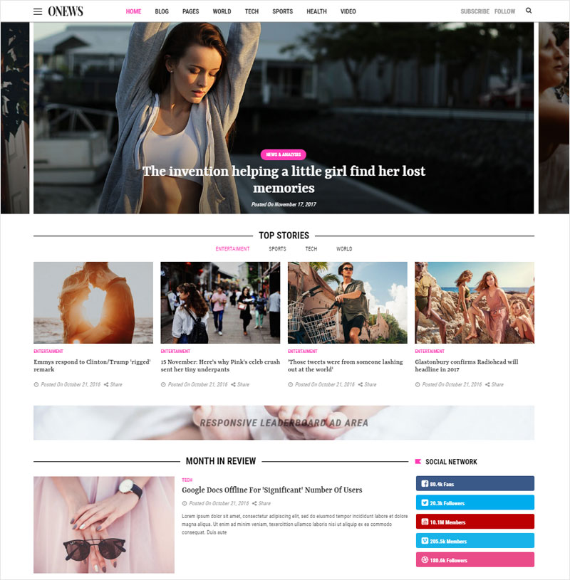 ONews-Modern-Newspaper-&-Magazine-WordPress-Theme-(Mobile-Layout-Included)