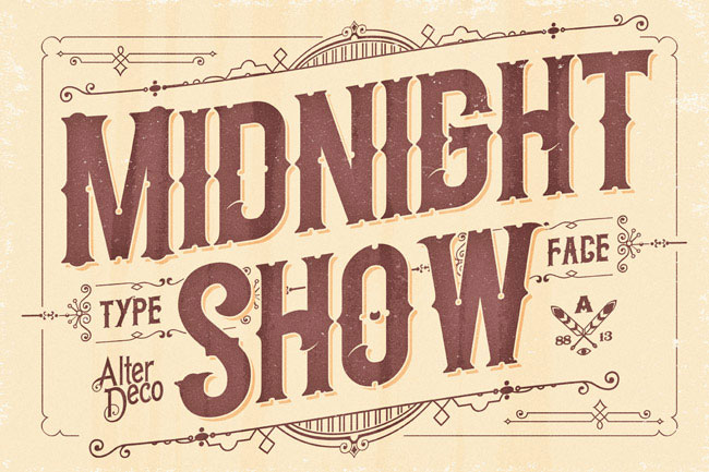 Midnight-Show-Vintage-Font-2018