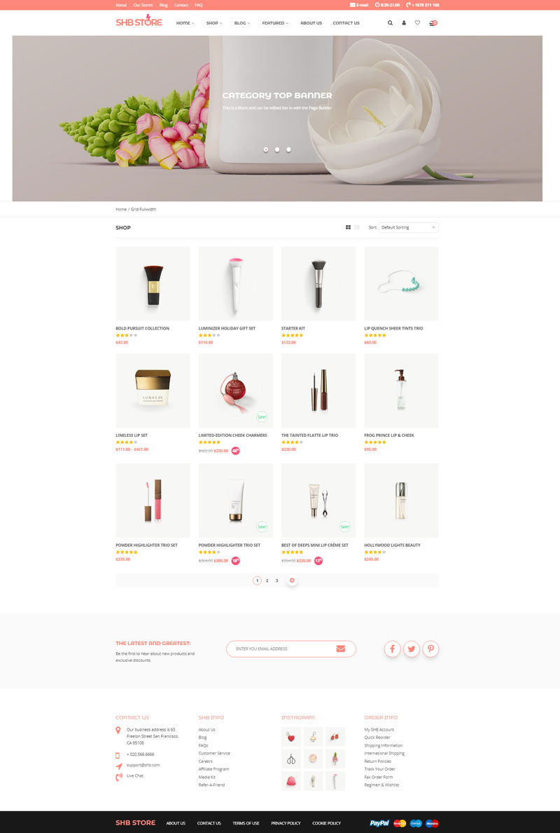 SHB-WooCommerce-WordPress-Theme