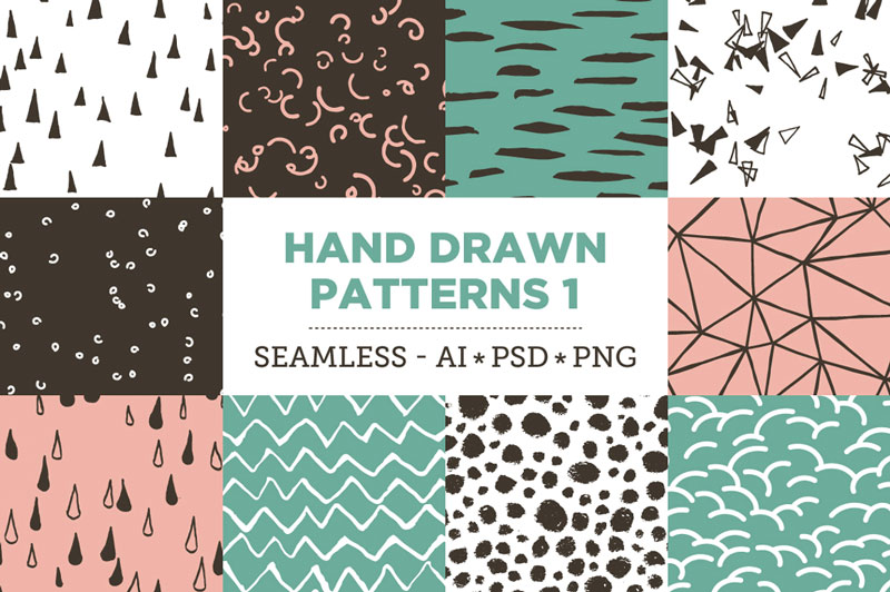 Creative-Colorful-Hand-Drawn-Seamless-Patterns-2018-1