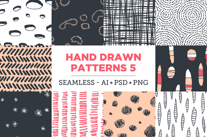 Creative-Colorful-Hand-Drawn-Seamless-Patterns-2018-12