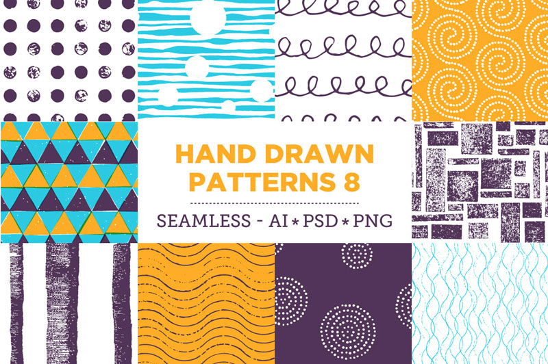 Creative-Colorful-Hand-Drawn-Seamless-Patterns-2018-21