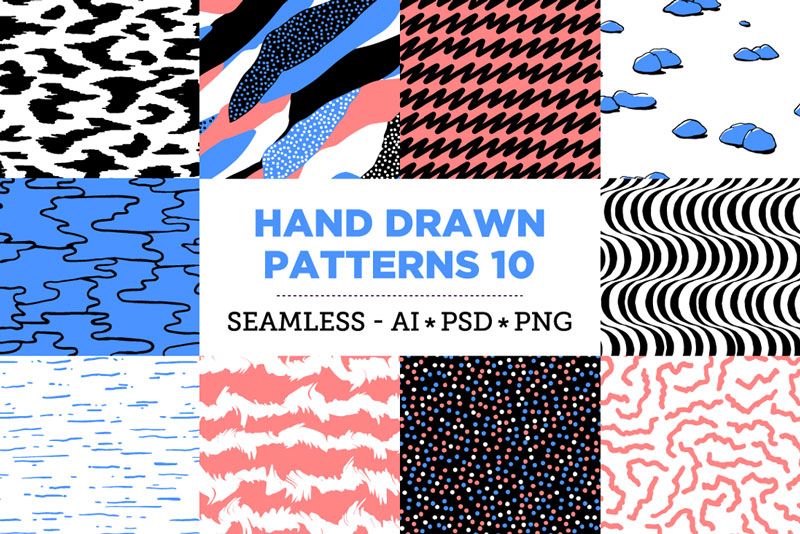 Creative-Colorful-Hand-Drawn-Seamless-Patterns-2018-27