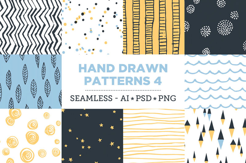 Creative-Colorful-Hand-Drawn-Seamless-Patterns-2018-9