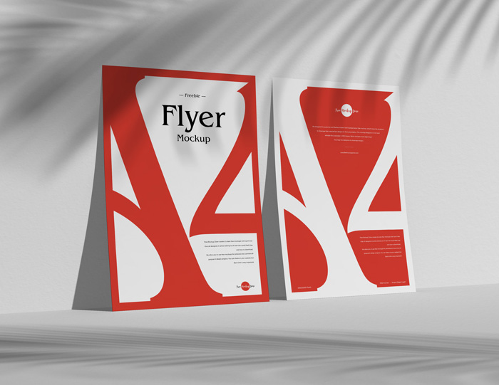 Free-A4-Standing-Flyer-Mockup