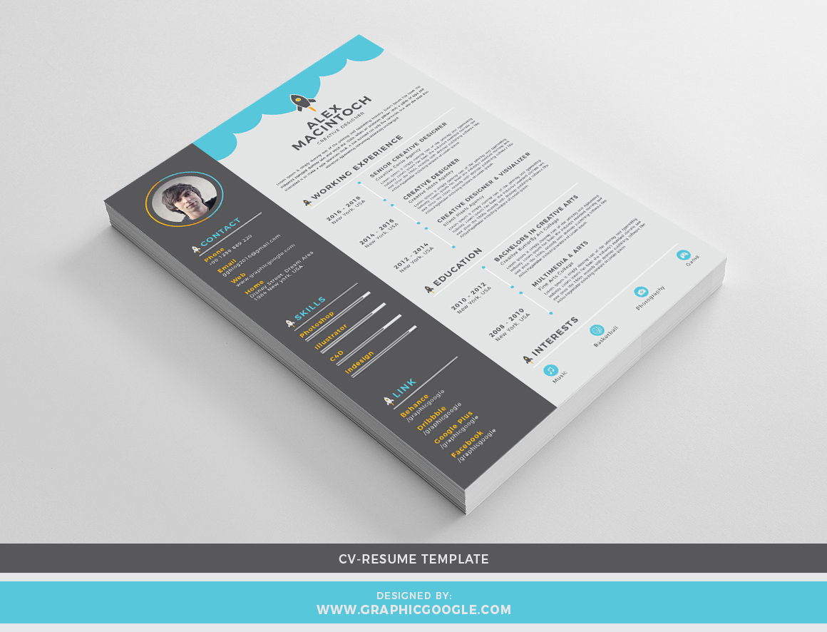 Free-Creative-CV-Resume-Design-Template-For-Designers-2018