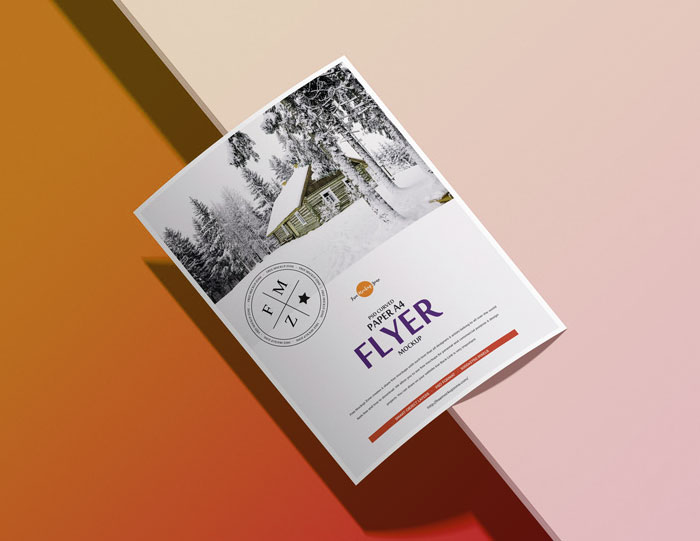 Free-Curved-Paper-A4-Flyer-Mockup-PSD