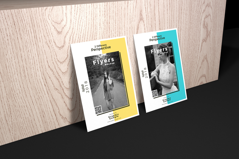 Free-Flyers-Mockup-With-2-Different-Perspective-2