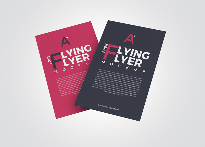 Free-PSD-Flying-Flyer-Mockup