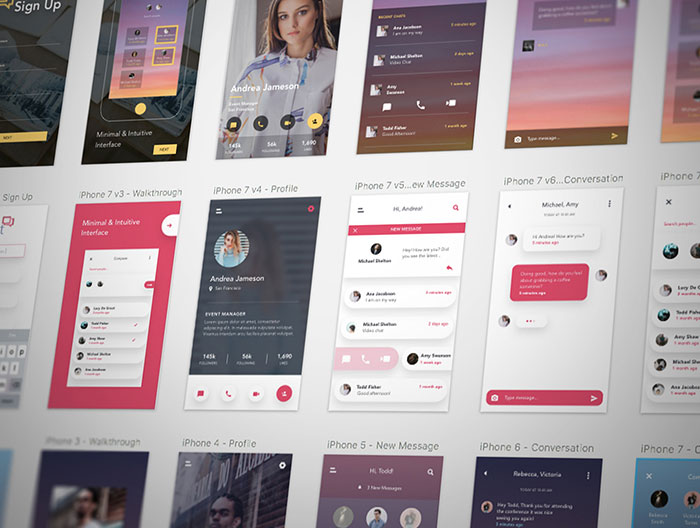 Free-Chat-Mobile-App-UI-Kit-for-Sketch